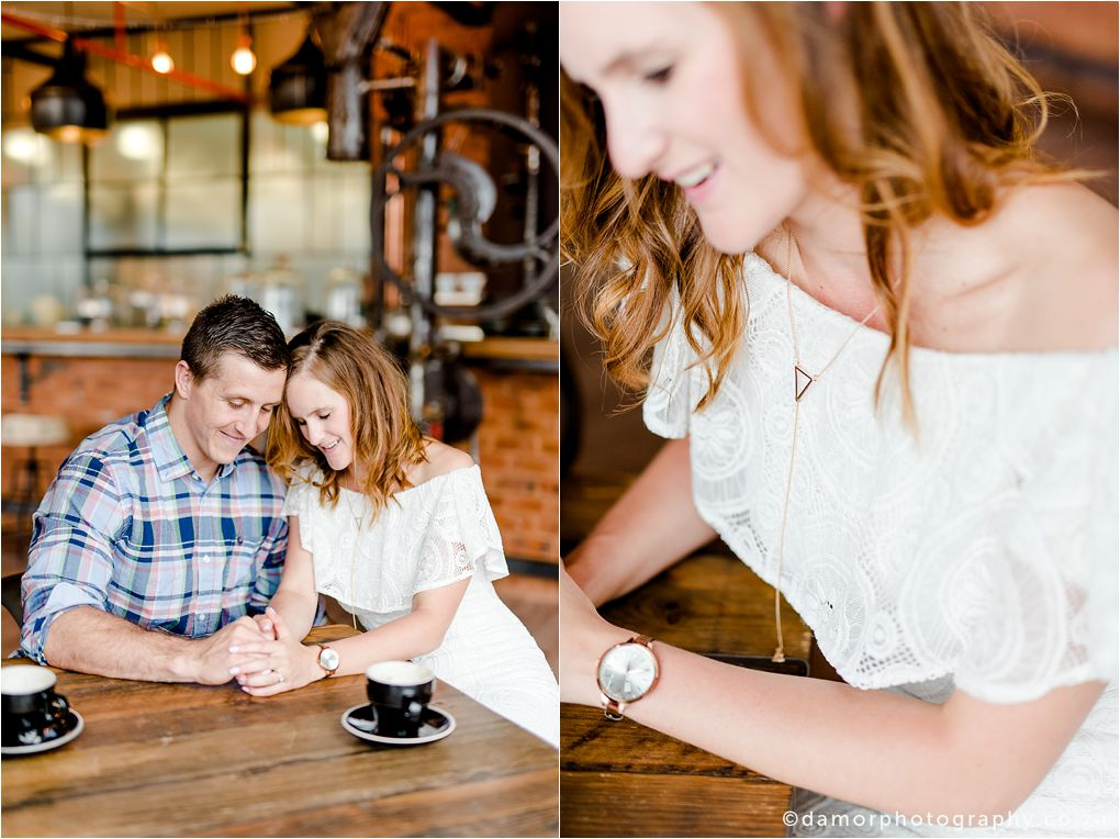 Engagement shoot at Industrial Coffee Works in Centurion by D'amor Photography 16
