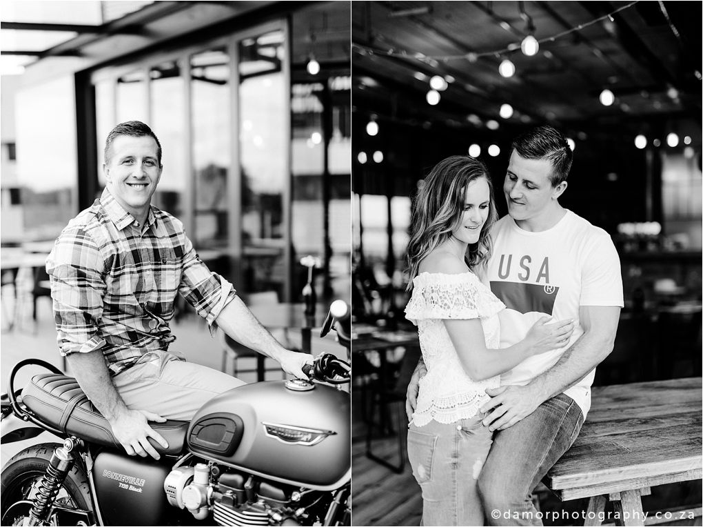 Engagement shoot at Industrial Coffee Works in Centurion by D'amor Photography 17
