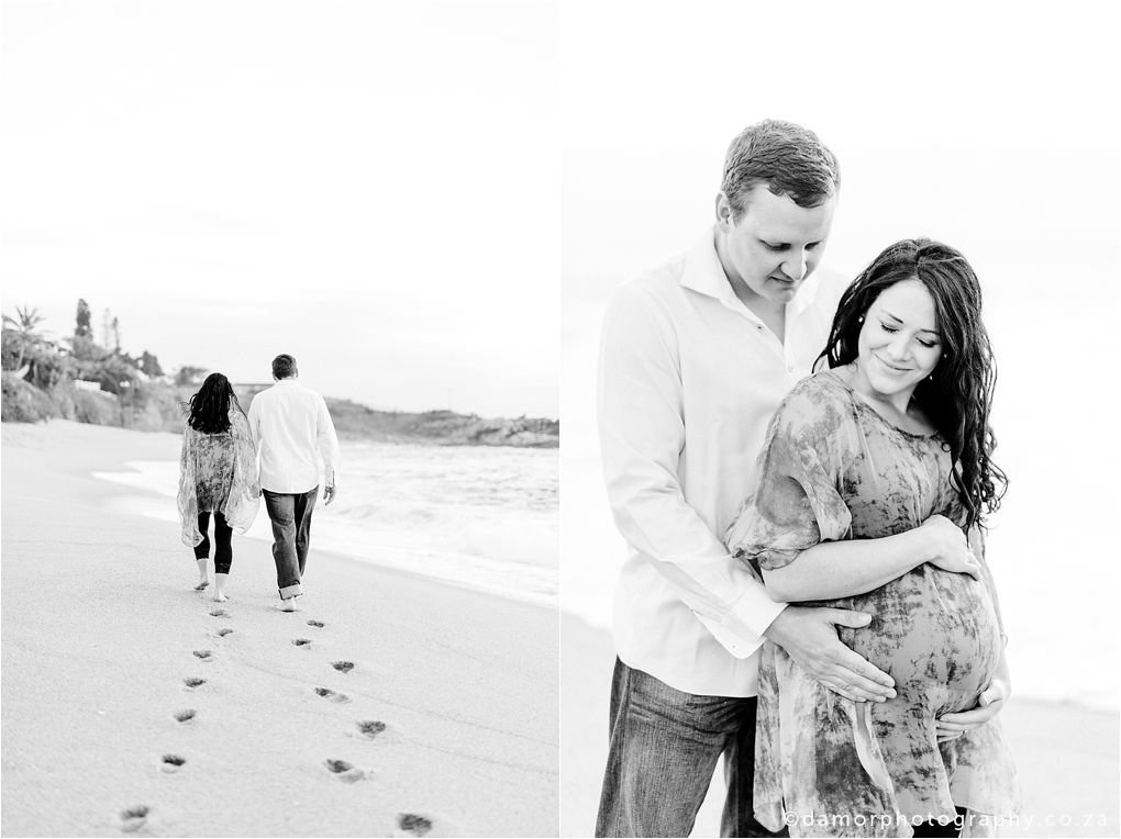 Beach Maternity Shoot by D'amor Photography Ballito South Africa 04
