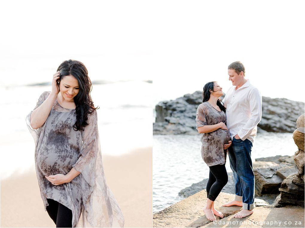 Beach Maternity Shoot by D'amor Photography Ballito South Africa 07