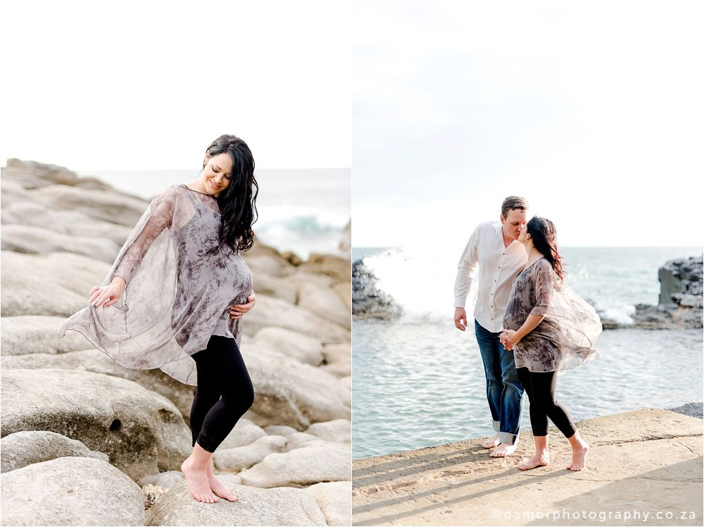Beach Maternity Shoot by D'amor Photography Ballito South Africa 09