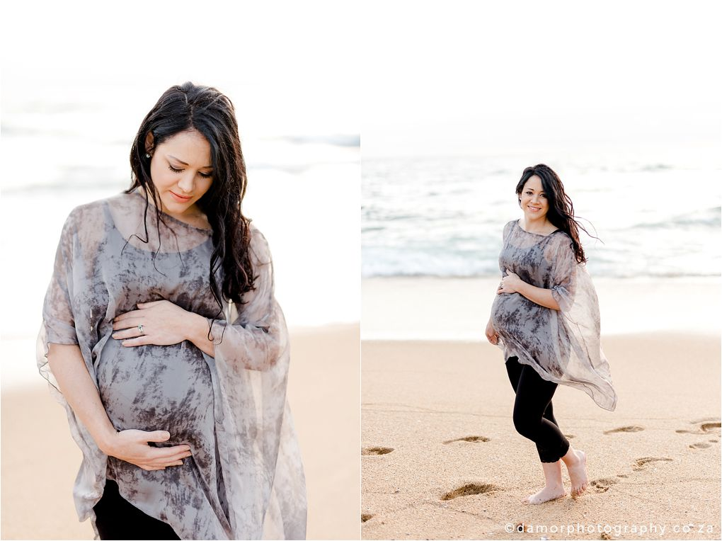Beach Maternity Shoot by D'amor Photography Ballito South Africa 12