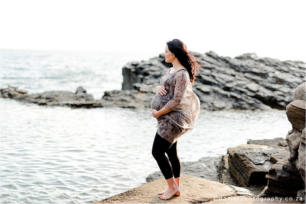 Beach Maternity Shoot by D'amor Photography Ballito South Africa 15