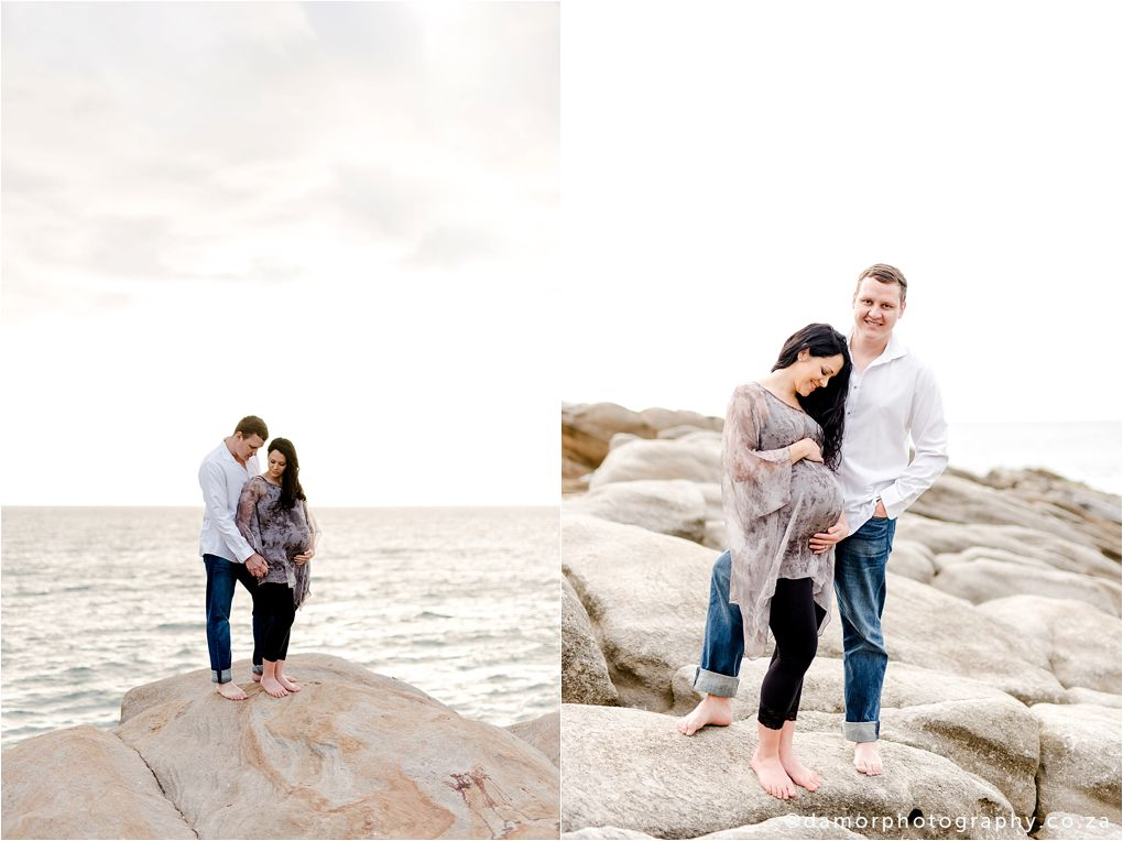 Beach Maternity Shoot by D'amor Photography Ballito South Africa 16