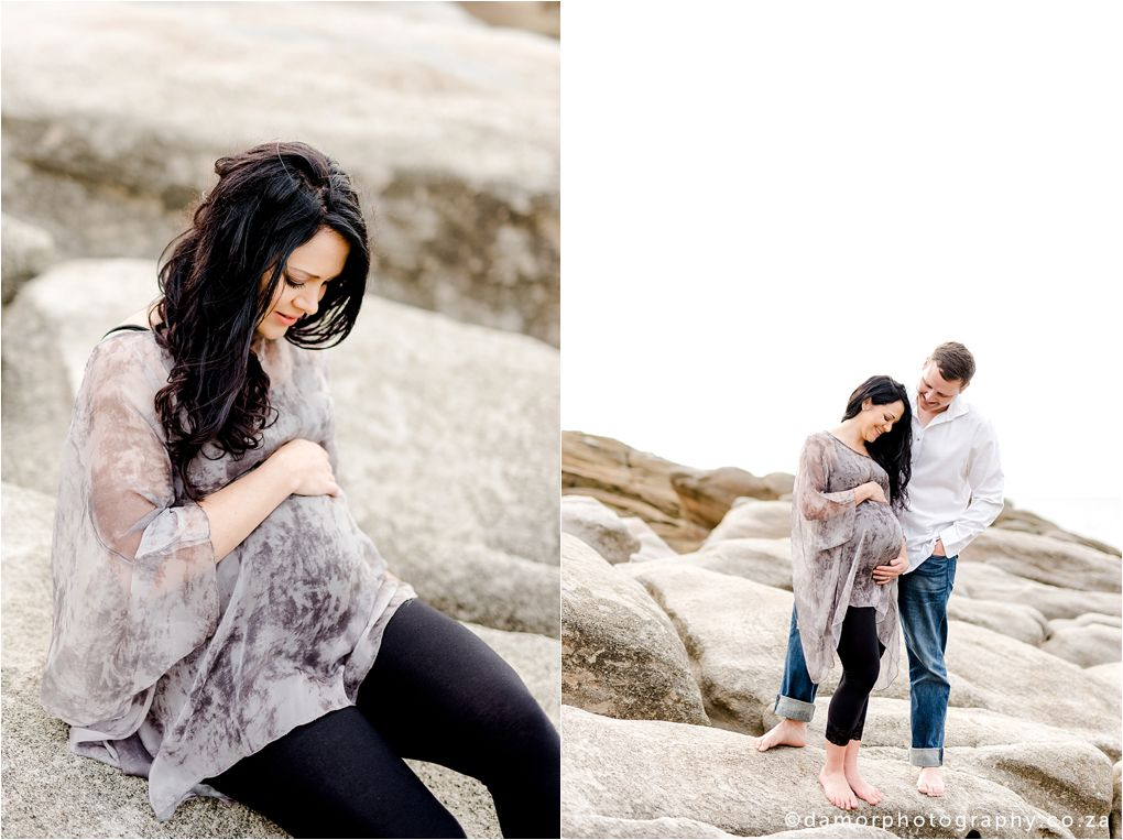 Beach Maternity Shoot by D'amor Photography Ballito South Africa 17