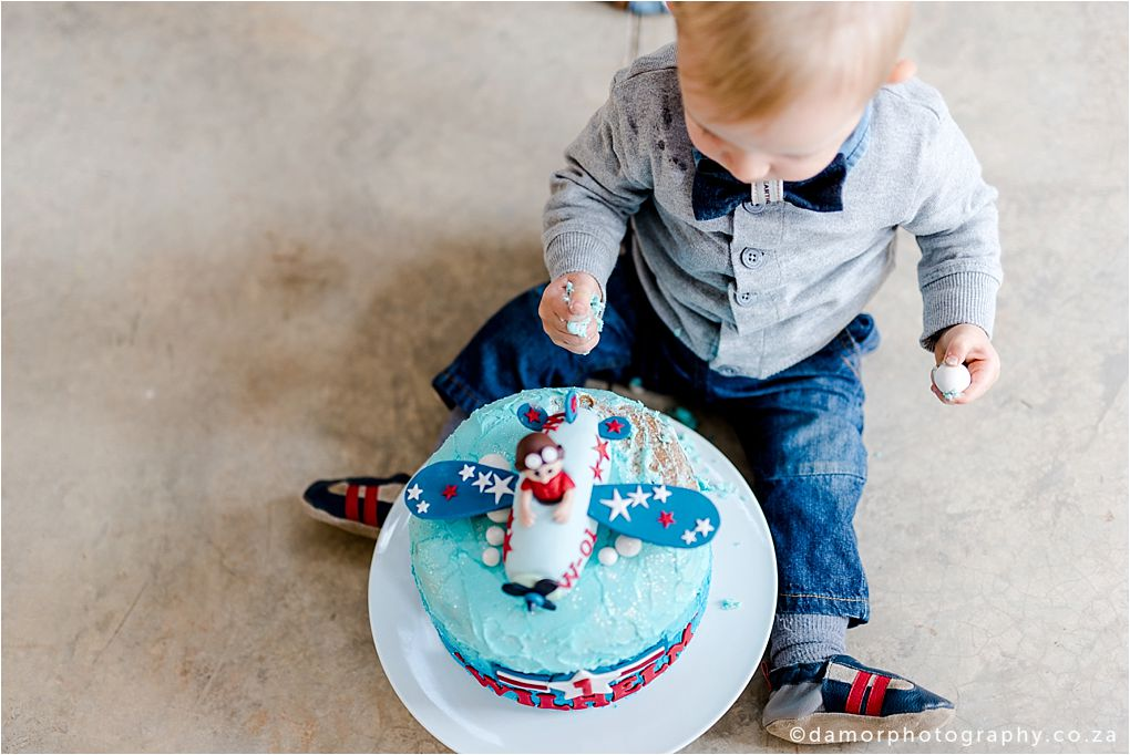 D'amor Photography Cake Smash Shoot One Year Old Birthday  02