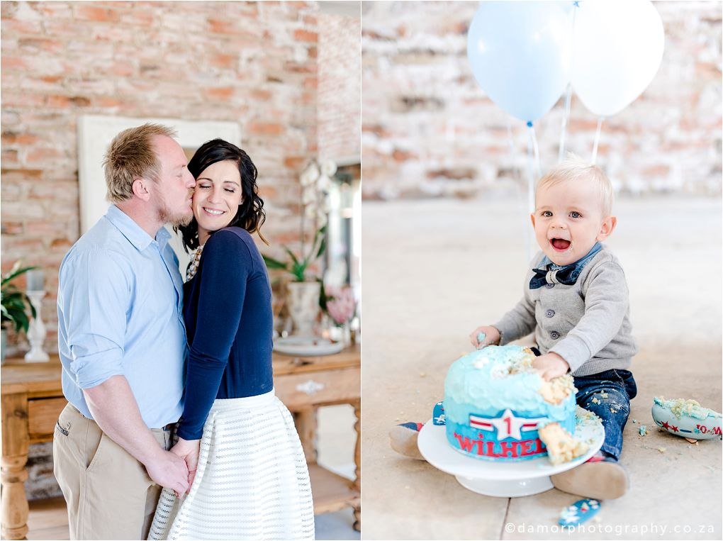 D'amor Photography Cake Smash Shoot One Year Old Birthday  11
