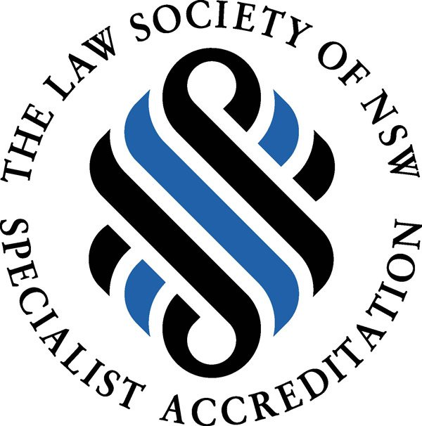 the law society of new south wales specialist accreditation logo