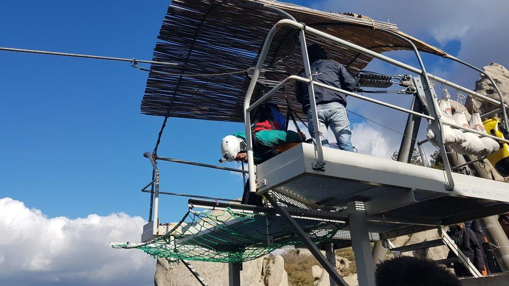 meccanismo di sollevamento del trasportatore della montagna