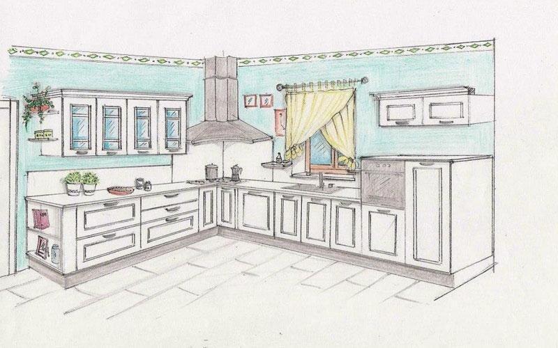 Progettazione arredamenti lucca personal cucina - Cucine con finestra sul lavello ...