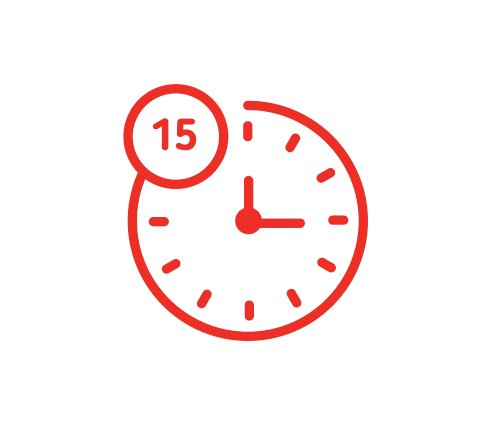 less time icon