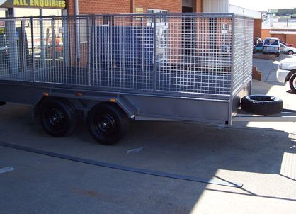 better trailers cage trailers