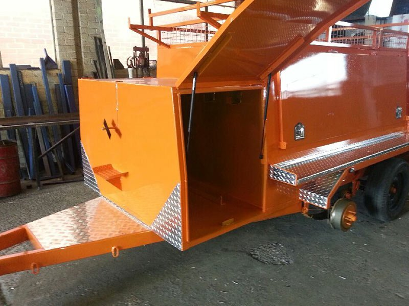 better trailers orange trailer