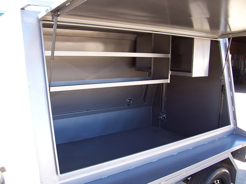 better trailers trailer interior mobile food wagon