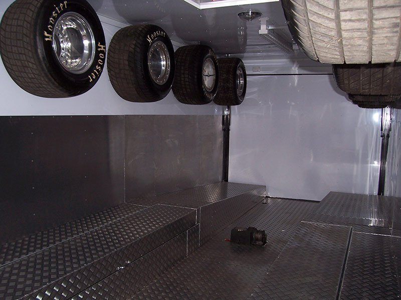 better trailers trailer interior with wheels tyres