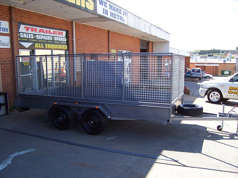 better trailers trailer with mesh