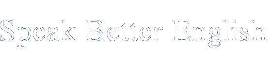 Speak Better English Logo