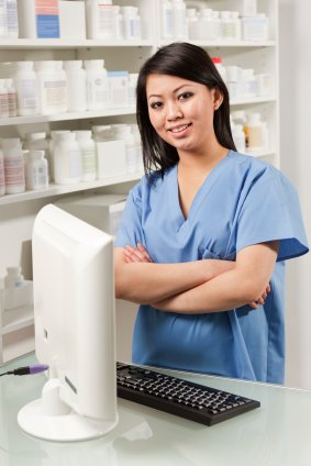Trained OET nurse at the store