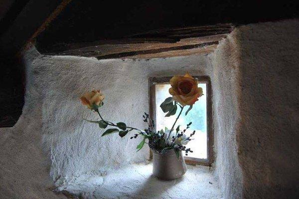 fiori su una finestra