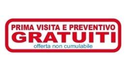 preventivi e prima visita gratuita
