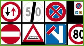 cartelli stradali, bande sonore attraversamento, catarifrangenti antiselvaggina