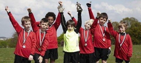 premiazioni per squadre sportive