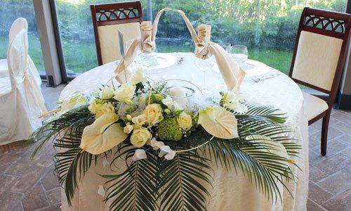 Addobbi per cerimonie e matrimoni