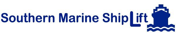southern marine ship lift business logo