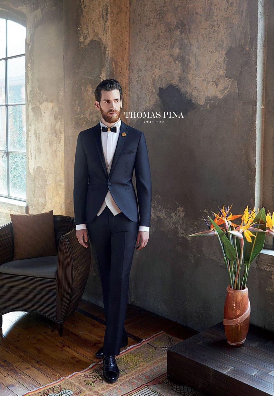 Thomas Pina abiti da sposo Taranto