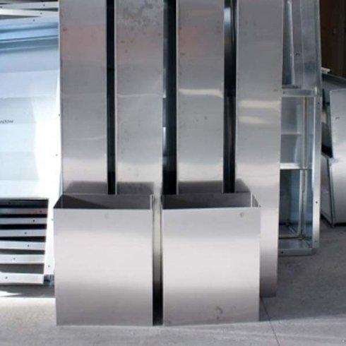 canali in acciaio per impianti