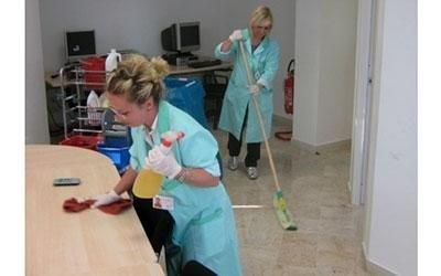 pulizia centri commerciali