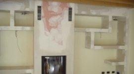 realizzazioni strutturali, pareti divisorie, telai a scrigno