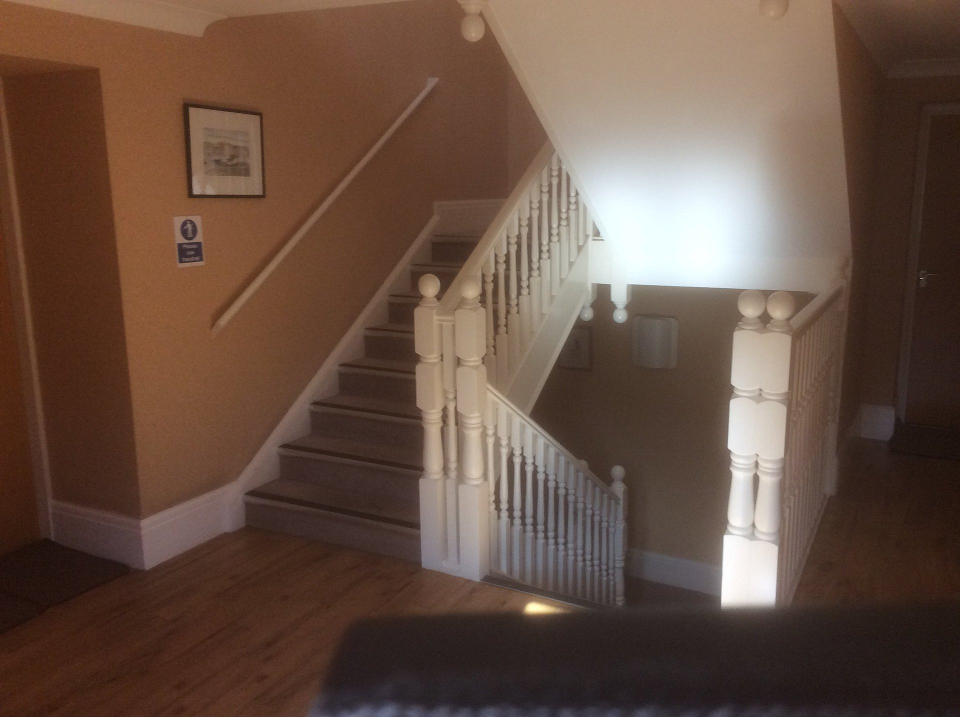 image of the stair case