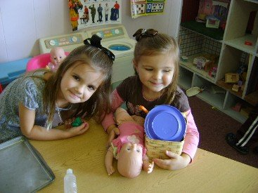 Examples of our pre-kindergarten for toddlers in Mason, OH