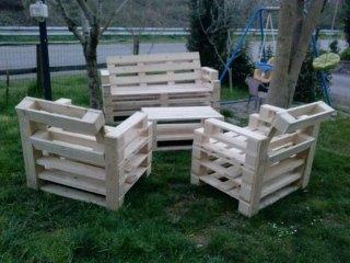Arredamenti in legno valdarno se ma go for Sedie fatte con pallet