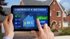 controllo remoto riscaldamento casa