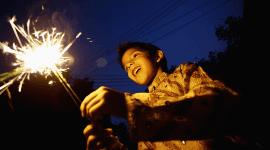 fuochi d'artificio per congressi