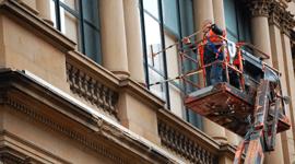 pulitura vetrate uffici