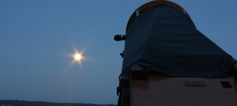 stargazing and outdoor education at Camp Casey Conference Center, Whidbey Island