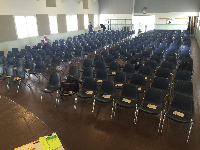 Camp Casey Auditorium.