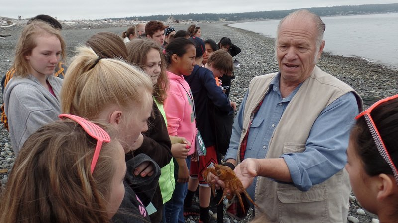 Outdoor Education programs including Beach Seine and a Sea lab.
