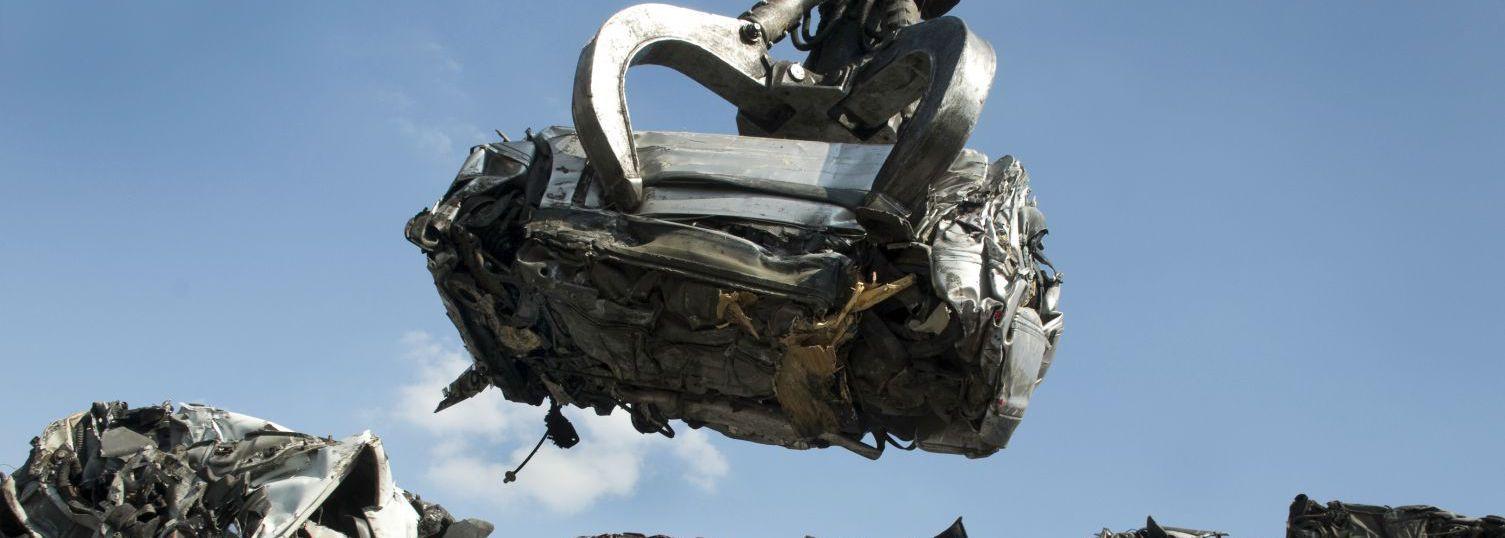 Scrap metal recycling being clawed in Wanganui