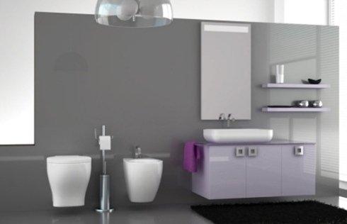 arredo in bagno moderno