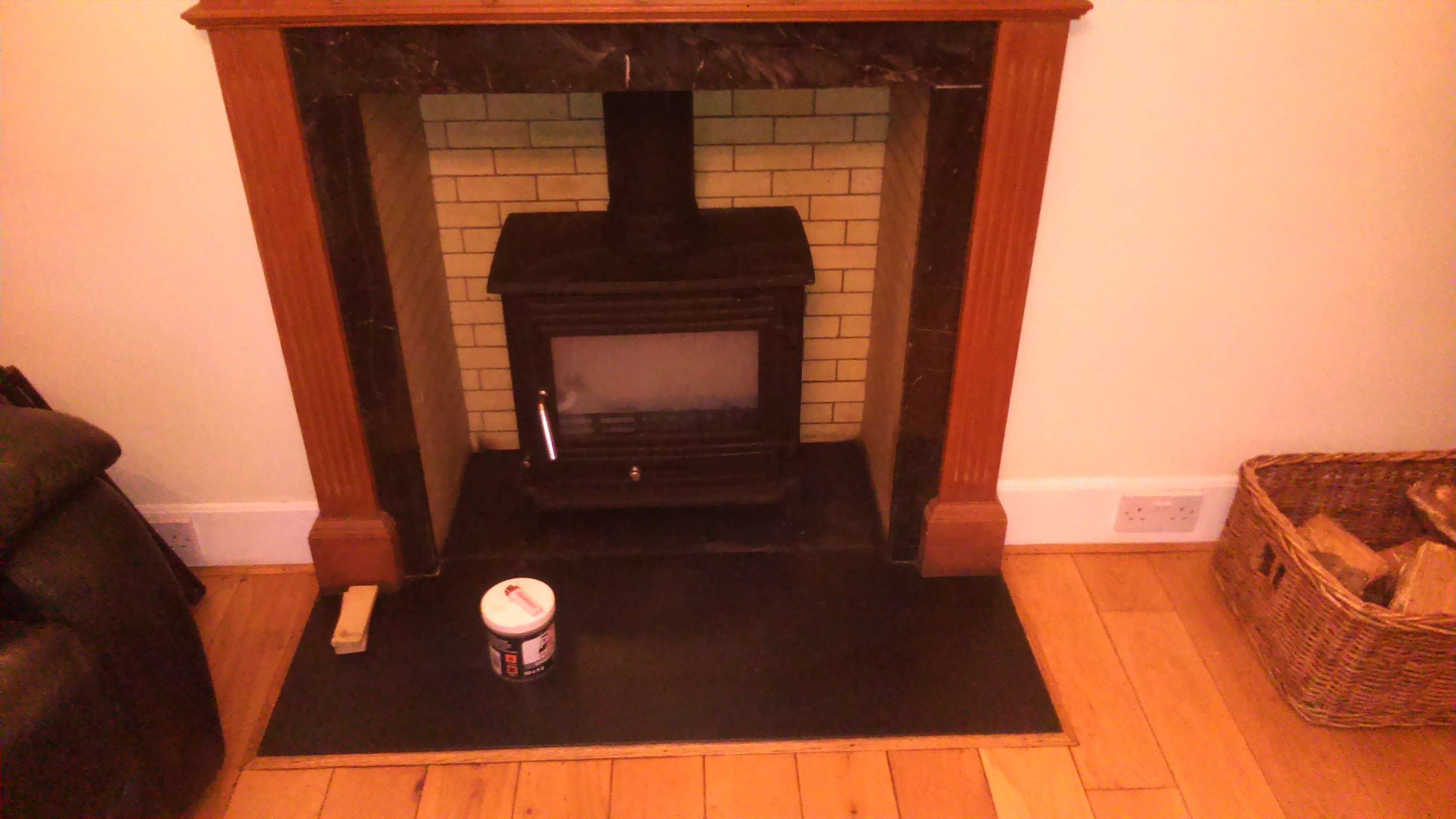 Fireplace installations