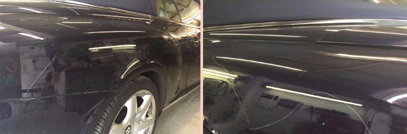 Key scratch damage