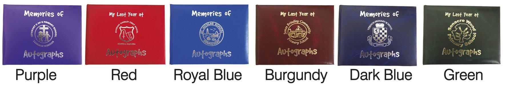 Personalised School Autograph books