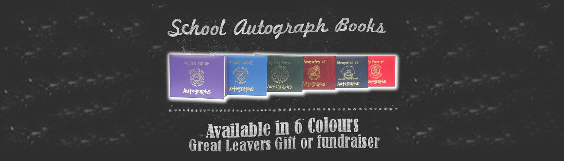 autograph book printing