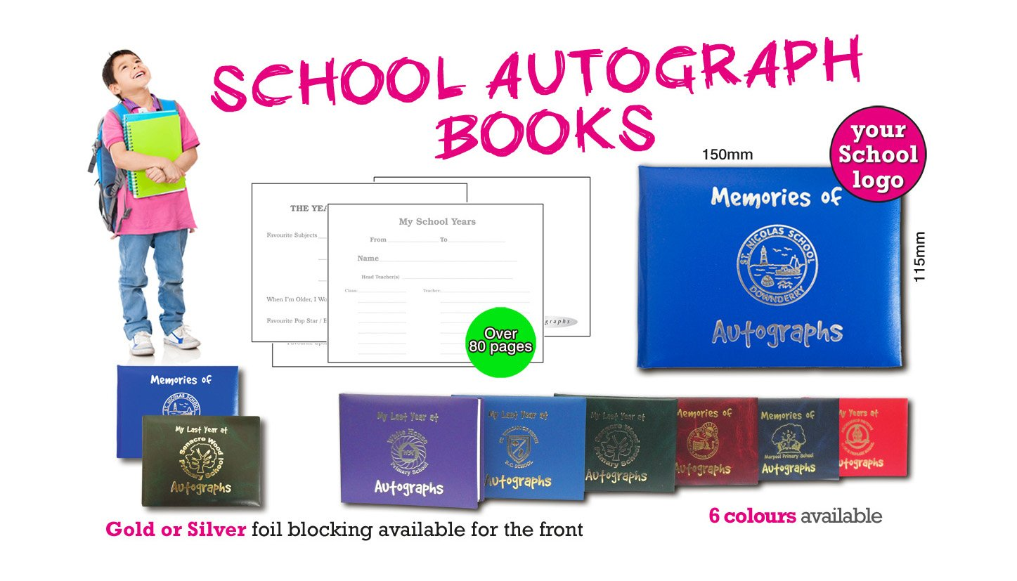 School Autograph Books