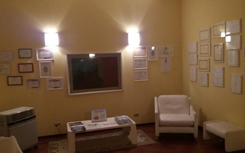 sala attesa studio odontoiatrico