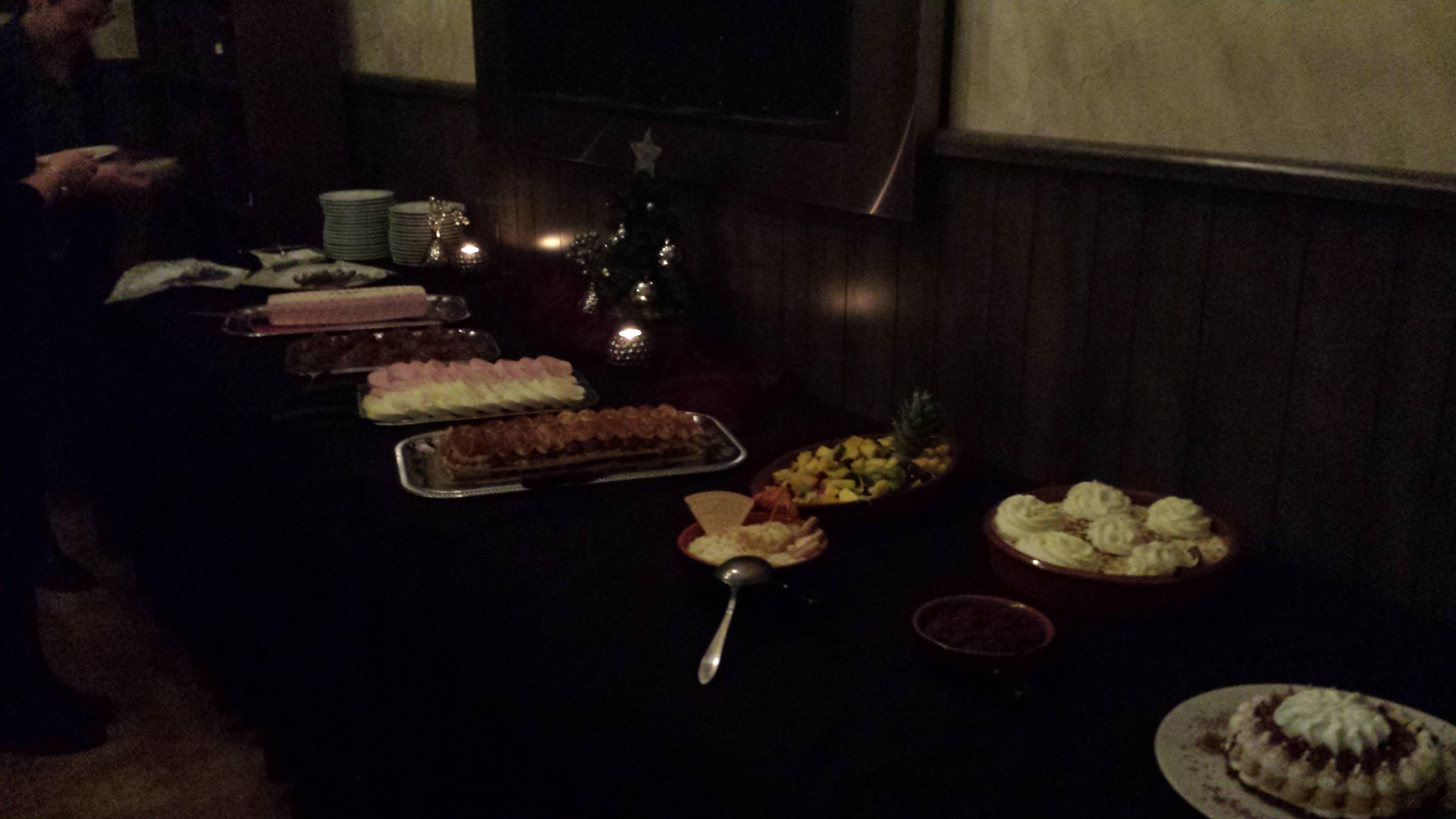 Desserts buffet Grashoek